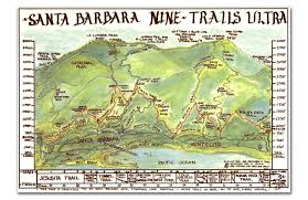 Running Map Route by Santa Barbara Athletic Association Running Routes