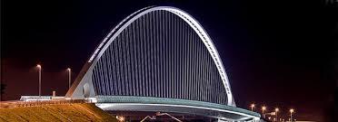 Artistic Lighting Calatrava Bridges Reggio Emilia Italy Artistic Lighting And
