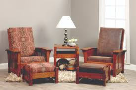 living room collections oak creek furniture morris mission chair ottoman and morris shaker chair ottoman oqfq