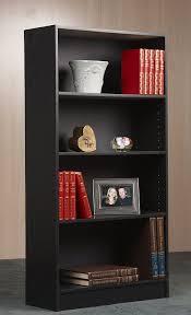 Bookcases Com Amazon Com Mylex 47 5 Inch Bookcase One Fixed And Three