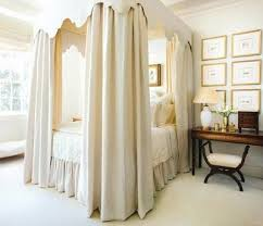Bed Canopy Curtains Bedroom Choose Curtains For Canopy Beds Feels Like A Queen