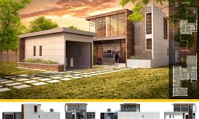 modular housing proposal residential architectural design projects
