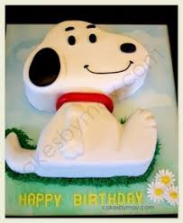 snoopy cake with instructions charlie brown u0026 the gang