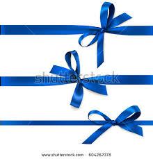 decorative bows set beautiful decorative bows horizontal ribbon stock vector