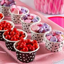 candy valentines valentines day candy cups idea valentines day treat ideas