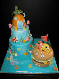spongebob cake ideas spongebob birthday cakes images