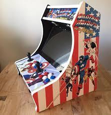 Bar Top Arcade Cabinet Captain America Bartop Arcade Kit U2013 Escape Pod Online