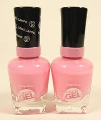 2 sally hansen miracle gel no light nail polish color 170 pink
