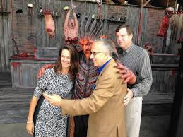 Fright Fest Six Flags Arlington Tx Great America Teases Winter Holiday Festival To Follow Fright Fest