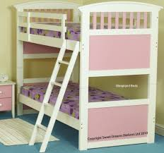 Ruby Pink Bunk Bed By Sweet Dreams Pink Wooden Bunk Beds - Dreams bunk beds