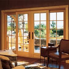 Wood Patio Doors Wood Patio Doors Creative Exterior Concepts