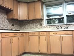 Phelps Kitchen Cabinet Refinishing - Birch kitchen cabinet