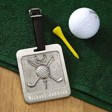 pewter personalized golf bag tag current catalog