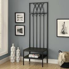 hall coat racks furniture adorable tree entry way stand bench