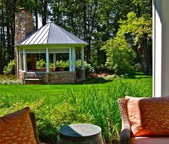 new york free standing gazebo landscape traditional with pavilion