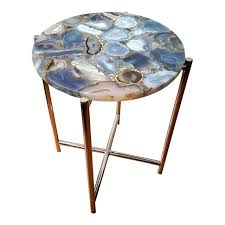faux agate side table agate accent table inspiring agate side table gallery fresh at