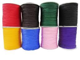 rattail cord 1mm rattail braid cord macrame rope shamballa bracelet