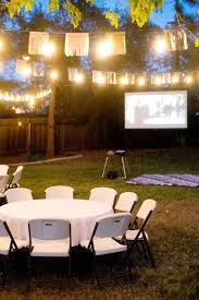backyard birthday party love the timeless decor and outdoor