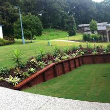 Backyard Retaining Wall Ideas Wooden Garden Retaining Wall Retaining Wall Wooden Raised Beds
