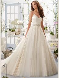 mori lee blu 5416 v neck soft net ball gown bridal dress