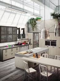 Latest Modern Kitchen Design by Expression Of The Latest U201curban U201d Trends Loft Kitchen Loft