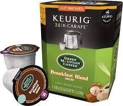Best Light Roast Coffee Keurig Green Mountain Breakfast Blend Decaf K Carafe Pods 8 Pack