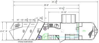4 horse lakota horse trailer with living quarters dixie horse