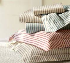 ticking stripe duvet cover navy black grey red brown