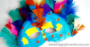 carnival masks paper plate carnival masks happy brown house