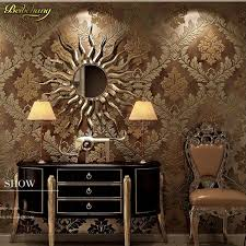 chambre or beibehang environmental wallpaper tv background living room bedroom