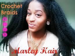 best marley hair for crochet braids crochet braids with marley hair youtube