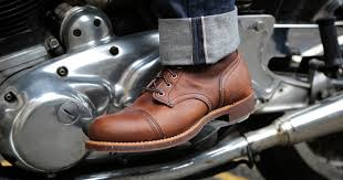 red motorcycle shoes 10 great men u0027s boots for style on and off the bike rideapart