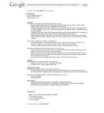 Functional Resume Template Sample Resume Of Google Employees Templates