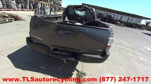 parting out 2011 toyota tacoma stock 5096bk tls auto recycling