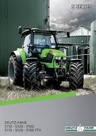 deutz 5 series tractors