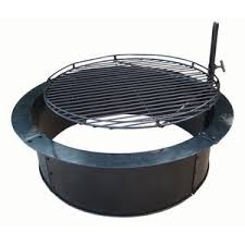 Fire Pit Ring With Grill by Insider Fire Pit Liner Lowes Garden Landscape