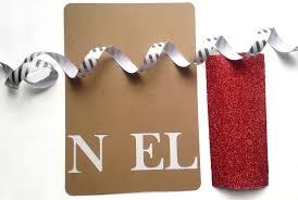 diy paper noel christmas card