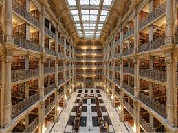 Library Interior Design Renaissance Revival Style Architecture Of Baltimore U0027s George