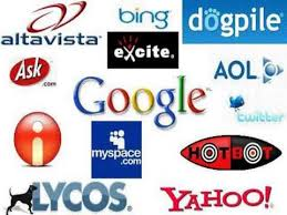 list of engines search engine list