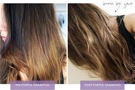 clairol shimmer lights before and after brunettes can def should use purple shoo too