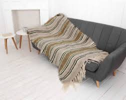 couch wool throw blanket weighted blanket sofa cover woven