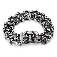 bracelet skull images Skull bracelet jpg