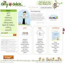 adele greeting card website design zenful creations