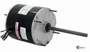 48y frame fan motor century fe1008sv1 condenser fan motor 1 10hp 825rpm 208 230v 1ph 48y
