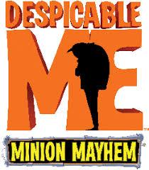 despicable minion mayhem universal studios florida