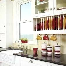 Kitchen Cabinet Plate Rack Storage Kitchen Cabinet Plate Rack Storage Ways To Spruce Up Tired