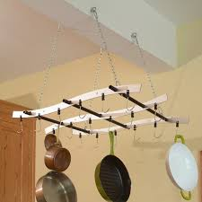 lighted hanging pot racks kitchen pots wonderful lighted hanging pot rack canada kitchen pot