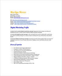 Market Research Resume Samples by Sample Marketing Resume Template 6 Free Documents Download In