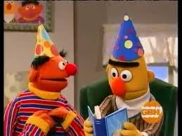 sesame birthday sesame it s bert s birthday