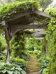 Arbor Trellis Ideas Covered Walkway From Garage To House Covered Walkway Arbor